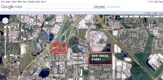 Google Maps Orlando by Breaking News New Theme Park On I Drive