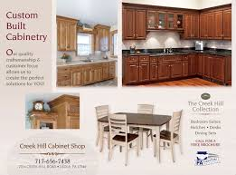 creek hill cabinet shop leola pa cabinets custom built
