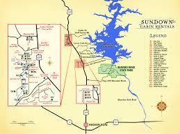 Map Of Tulsa Sundown Cabin Rentals U2013 Maps