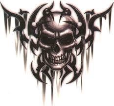 tribal skull tattooforaweek temporary tattoos largest
