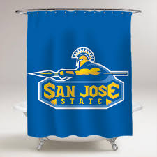 Curtains San Jose San Jose State Spartans Bathroom Shower Curtain Price 36 99