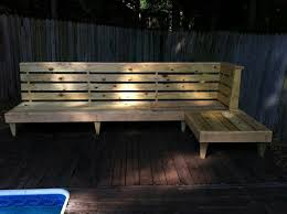 Deck Wood Bench Seat Plans by Easy Diy Outdoor Bench To Make Best Home Design Ideas