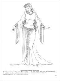 fashion design coloring pages historical fashion coloring pages free printable historical