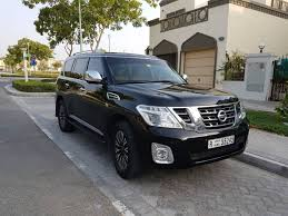 black nissan 2016 2016 nissan patrol platinum black edition aed180 000 british mums