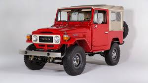 jeep wrangler beach cruiser toyota u0027s 40 series land cruisers come back to the states autoweek