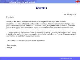 informal letter for high 2014 wheresjenny com ppt download
