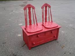 Bench Made From Old Dresser Backroad Folkart By Kerras Jeffery U003e Deacons Bench From Old