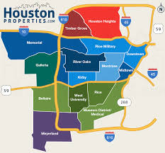 Great Loop Map Great Map Of Houston U0027s Inner Loop Neighborhoods From Http Www