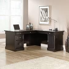 L Shape Executive Desk Three Posts Henley L Shape Executive Desk Reviews Wayfair
