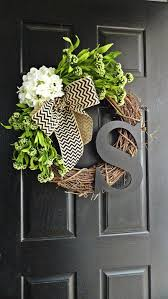spring wreaths for front door best 25 front door decor ideas on pinterest letter door wreaths