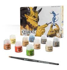citadel dry paint set from games workshop gw 99179952002