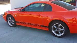 sold sold 2004 ford mustang gt v8 competition orange w low miles