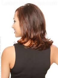 back view of medium styles medium length brunette style waves back view hair styles