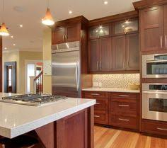 Kitchen Remodel By Renovisions Induction Cooktop Stainless Steel - Light cherry kitchen cabinets