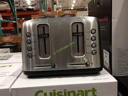 Toaster Costco Cuisinart 4 Slice Toaster U2013 Costcochaser