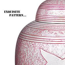 burial urns for human ashes chapel hill memorial park pink flying birds cremation urn by