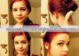 hip hop dance hairstyles for short hair quick and easy rehearsal dance class hair styles youtube