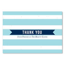 business thank you cards unique business thank you cards seeded paper notes by green