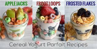 cereal yogurt parfait breakfast recipe u0026 tutorial the diy