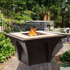 Oriflamme Fire Tables Propane Fire Pits With Stone Base Oriflamme Fire Table Santa Fe