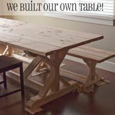ergonomic farmhouse trestle table 52 trestle farm table for sale