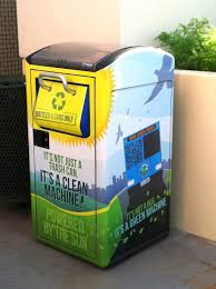 solar powered trash compactors spur rise in recycling