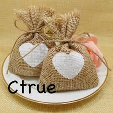 engagement favors 50pc rustic wedding candy bags burlap baby shower favor wedding