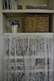 Bookcase With Baskets Organize Your Bookcase With Baskets And Lace Cottage Fix