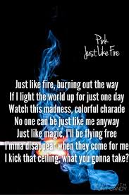 just like fire p nk alice through the looking glass soundtrack