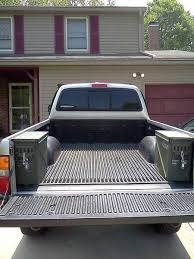 toyota tacoma bed rails bed rail ammo can tacoma forums tacoma bed
