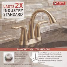 Pex To Faucet Connection Delta Faucet 2538 Ssmpu Dst Lahara Brilliance Stainless Two Handle