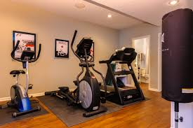 small home gym decorating ideas wonderful white brown wood glass luxury design modern home gym