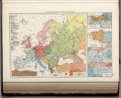 Historical Maps Of Europe by Ethnographic Map Of Europe David Rumsey Historical Map Collection