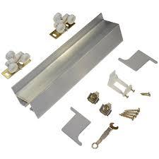 Closet Door Finger Pull by 2610 Wall Mount Barn Door Type Sliding Door Hardware 48