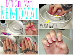 nail art how to remove fake nails kiss glue on gel take off