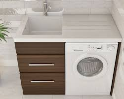 washing machine with sink bloom laundry cabinets sinks perth