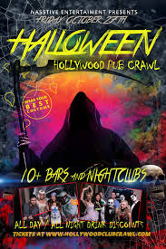 halloween events u2013 hollywood club crawl