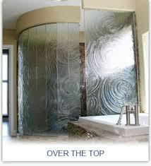 Decorative Shower Doors Shower Enclosures Orange County Ca Frameless Semi Frameless