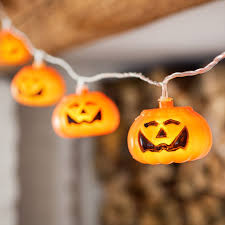 pumpkin lights 15 pumpkin indoor led fairy lights by lights4fun
