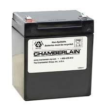 battery operated garage door opener shop chamberlain garage door battery at lowes com