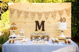 Dessert Table Backdrop by Bourbon And Bluegrass 40th Birthday Backdrops 40 Birthday And