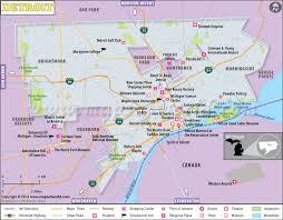 map usa detroit detroit map map of detroit city detroit michigan map