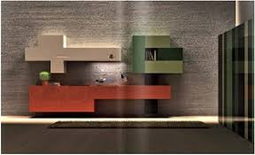 unique cabinets cabinets geometrical pattern wall mounted bright colors and high