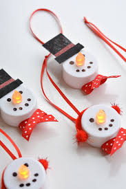 10 and easy snowman crafts re fabbed