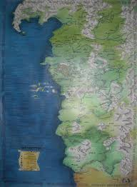 The Witcher 3 World Map by The Map Of The Witcher U0027s World By Madlaen On Deviantart