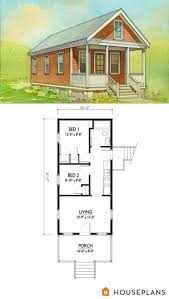cottage style house plan 2 beds 1 00 baths 544 sq ft plan 514 5