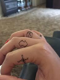travel tattoos travel tattoo finger inspo tiny australia