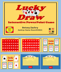 lucky draw is a fun interactive educational powerpoint game