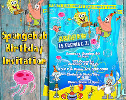 spongebob birthday card u2013 gangcraft net