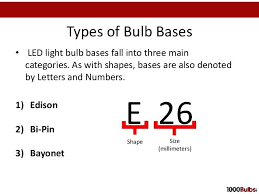 light bulb base sizes different types of light bulb bases bulb sizes thanks to this size